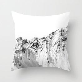 Mountain - Close to the edge Throw Pillow