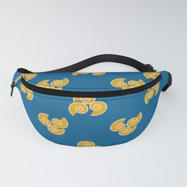 Blue Shell Fanny Pack