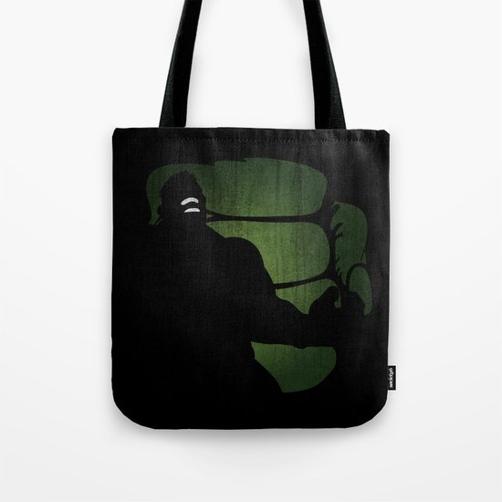 SuperHeroes Shadows : Hulk Tote Bag