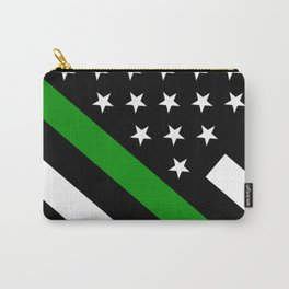 The Thin Green Line Flag Carry-All Pouch