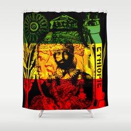 Haile Selassie Lion of Judah Shower Curtain