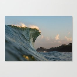 Temple Surf Canvas Print