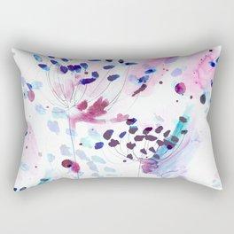 flowery Rectangular Pillow