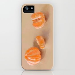 Clementines Study iPhone Case