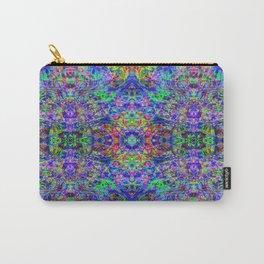 Blacklight Tye Dye Kaleidoscope Carry-All Pouch
