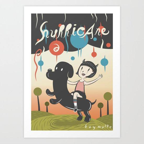 Hurricane! Art Print