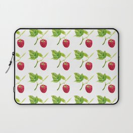 Raspberry, Fruit, Forest, Nature, Leaf, Berry, Sun, Summer, Happy Laptop Sleeve