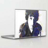 bob dylan Laptop & iPad Skins featuring bob dylan by manish mansinh