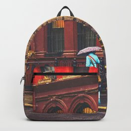 New York City Rainy Afternoon Backpack