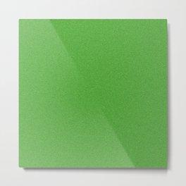 Green Glimmer Metal Print