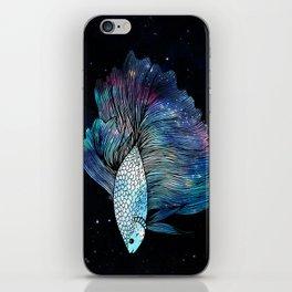 Betta Fish Galaxy iPhone Skin