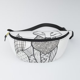 A Mother's Stare Fanny Pack
