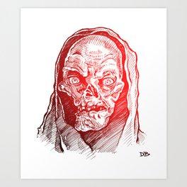 Crypt Art Print