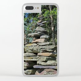 Toledo Cairn Clear iPhone Case