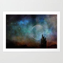 Planetary Soul Chava Art Print