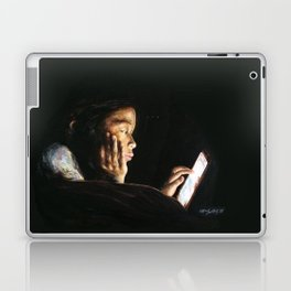 Portrait of Tara Laptop & iPad Skin