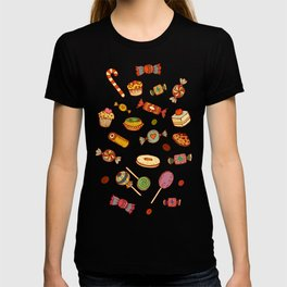 candy and pastries T-shirt