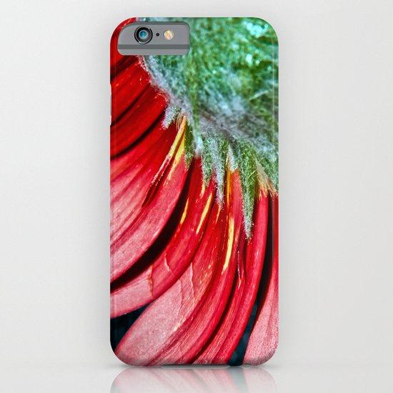 Red Gerbera Flower iPhone & iPod Case