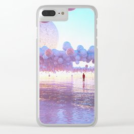 SHOOTING STARS Clear iPhone Case