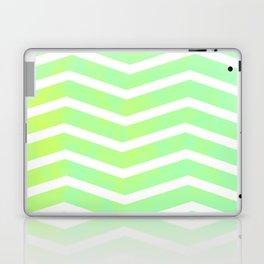 Patterned Chevron (Lime) Laptop & iPad Skin