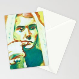 The Franciscan Padre as Painted-Up Mary Stationery Cards