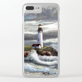 Beam of Hope Clear iPhone Case