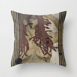 Medusa print Throw Pillow