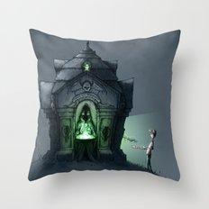 Eternal Famishment Throw Pillow