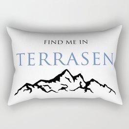 Find Me In... TERRASEN Rectangular Pillow