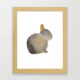 Louis the rabbit Framed Art Print