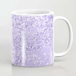 Lavender Glitter Dream #1 #shiny #decor #art #society6 Coffee Mug