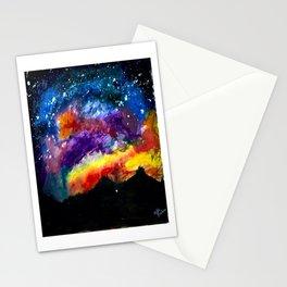 Majestic Night Sky Stationery Cards
