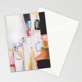 black & pink.  Stationery Cards