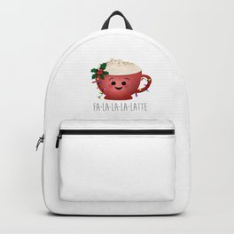 Fa-la-la-la-latte Backpack