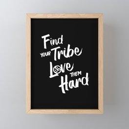 Find Your Tribe - BDSM Triskelion Framed Mini Art Print