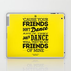 One Hit Wonder- Safety Dance in Yellow Laptop & iPad Skin