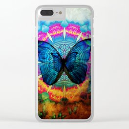 buttefly Clear iPhone Case