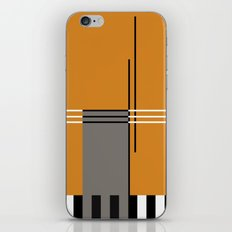 ABSTRACT IN ORANGE iPhone & iPod Skin