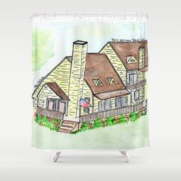 Melhorn's Port Herman Beach Condo, Vacation House Shower Curtain