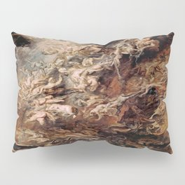 Peter Paul Rubens's The Fall of the Damned Pillow Sham