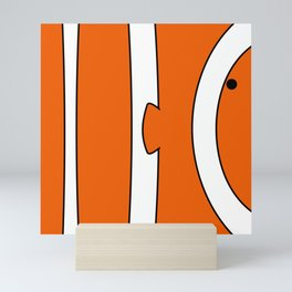 Whimsical Clownfish  Mini Art Print