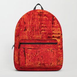 Ladders (Red Abstract) Backpack