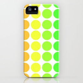 Dot Pattern iPhone Case