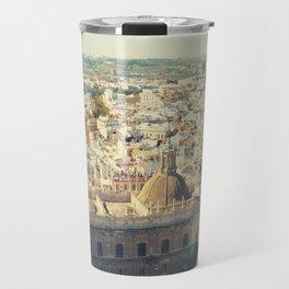 Seville - Skyline & Rooftops Travel Mug