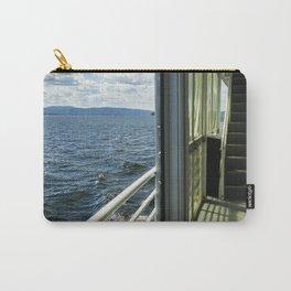 Burlington, Vermont Boat Ride.  Carry-All Pouch