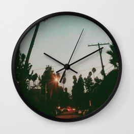 West Hollywood  Wall Clock