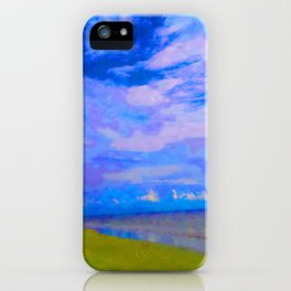 Horizon at Icacos iPhone Case