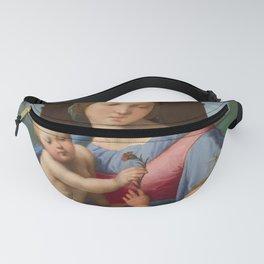 """Raffaello Sanzio da Urbino """"Aldobrandini Madonna"""", circa 1510 Fanny Pack"""