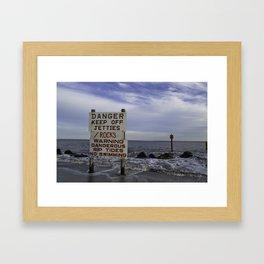 Rip Tide Framed Art Print