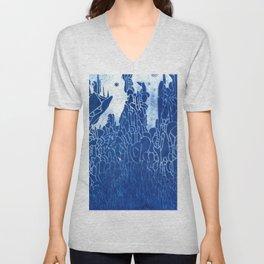 cyano spire Unisex V-Neck